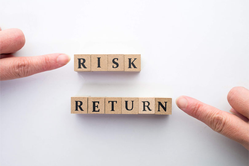【まとめ】リスクとリターンを投資の種類別に比較!